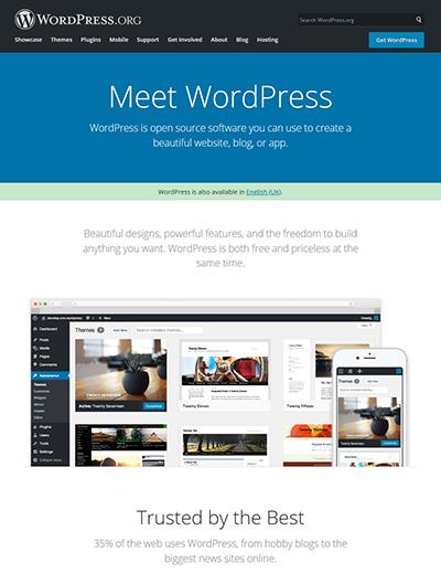 wordpress org website